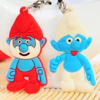 Free shipping Cartoon snowman design key chain  lovers phone pendant 2pcs/pack 3*5.5cm
