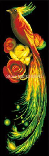 Needlework diamond painting cross stitch 3d diamond embroidery phoenix pattern Kits for embroidery pictures of rhinestones(China (Mainland))