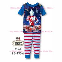 Dec-22 Boys Big Hero Clothing Set Kids Cartoon Clothes New 2014 Wholesale Children 8-12Y LongSleeve Cotton Pajamas Sets V-047