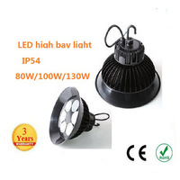110w high power 100w 130w 140w led high bay light industrial droplight pendant lamp meanwell driver  lamp fixture