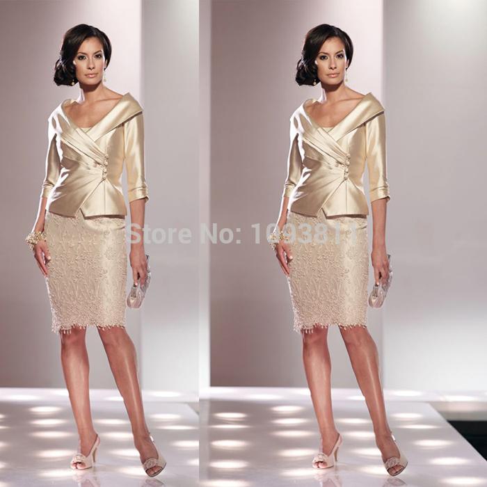 Платье для матери невесты 2015 , V Half Z260