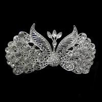 Free shipping 2014 hot promo gatsby tiara wedding hair crown Vintage bridal crystal tiara woman hair jewelry XB45