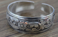 2014 free shipping in Europe and the silver bracelet restoring ancient ways J1382
