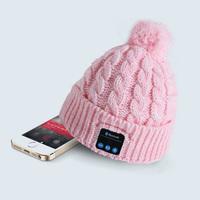 2014 new High Quality Bluetooth Hats Man Woman Winter Warmer Fashion Beanie Wireless Bluetooth Cotton Caps