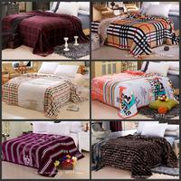 2015 new Jin Diaorong mink blanket blanket cloud Farley cashmere flannel blanket sub upgrade coral carpet sheet 150*200