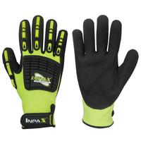 No.422005 Men Industrial Oilfield Gloves oil resistant gloves Protective Work Safety Gloves  Size: L/ XL