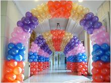 Chinagoods prima! nuevo 100 unids del banquete de boda Multicolor Latex Balloon Decor encantadora