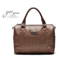 Hot new handbag atmosphere drums monochrome coffee bag handbag handbag shoulder diagonal