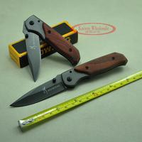 BOKER Mini DA29 Rosewood carved handle Camping hunting knives folding pocket knife