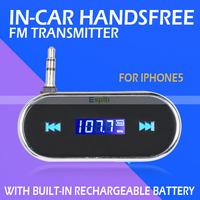 Wireless 3.5mm Audio Music In-car Handsfree FM Radio Transmitter for iPhone 6 6Plus Samsung Galaxy S5 S4 Note 4 3 HTC Nokia Moto