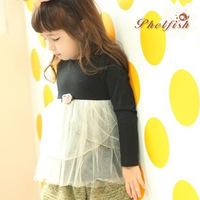 children's new flowers rose Long sleeve dress baby girls winter dress princess tutu dresses for girls 5pcs/lots