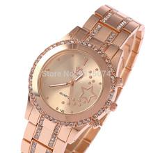 Fashion Jewelry, Luxury Watches, High Quality Rhinestone Women Steel Bracelet Sk – 112 Quartz Watch.