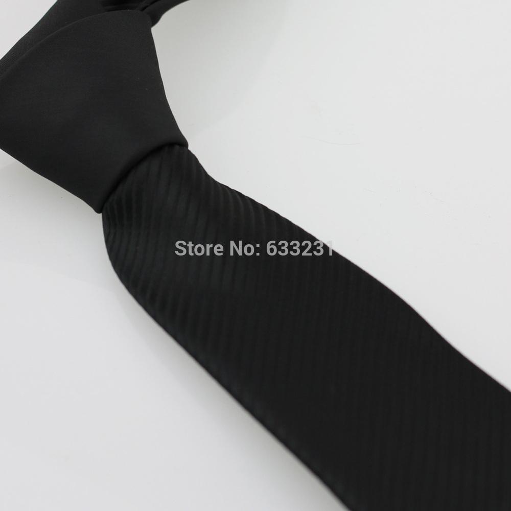 Coachella Ties Neckties Black Knot With Black Color Stripes Microfiber Tie 7cm Business Men Dress Shirts Fashion Brand Neck tie(China (Mainland))