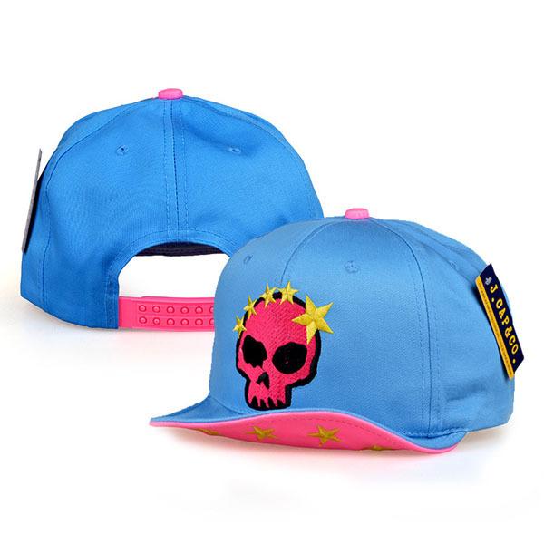 Candy Colour Hats Unisex Sports Trendy Snapback Caps Soft Eaves Hip Hop Hat Cute Skull Head Stars Embroidery Flat Baseball Cap(China (Mainland))