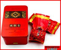 Free Shipping  High-grade tin box pack Anxi tieguanyin Fresh tea of tea Oolong tea series Chinese tea organic food