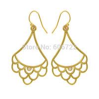 Wholesale Gold Scallop earrings Jewelry best friend Birthday Gift