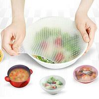 Newest Top Quality 3pcs/lot Cling Film Seal Vacuum Food Magic Wrap Multifunctional Food Fresh Keeping Plastic Wrap IC871827