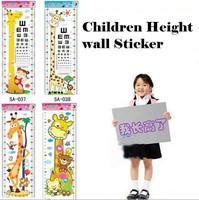 New Children baby Growing up height wall stickers Cartoon frozen kids wall sticker home decor decoration sticker Free shipping