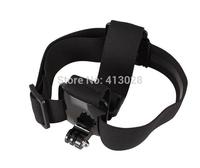 Adjustable Headband Accessory Mount Head Belt/ Helmet Strap for GoPro Hero 1 2 3 4 3+ Camera Skiing, cycling,rowing sport