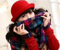1 piece 2014 new arrivel Fashion Warm Winter Women's Beret Kintted Hat women ski cap 7 colour