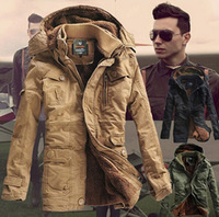 Free 2014 Detachable Cap Big Size Coat Winter New Men Outdoor Sports Coat Mens Winter Jackets and Coats Clothes Jacket