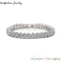 2014 Leadfashion cc jewelry handmade kpop relogio one direction pulseira white gold plating AAA CZ zircon bracelet for women