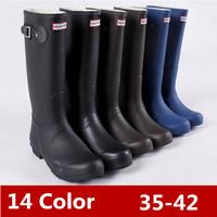 2014 Fashion Style,Women's Low Heels Waterproof Wellies,rain boot,Women's Water Shoes With Original Bags,Free Shipping!