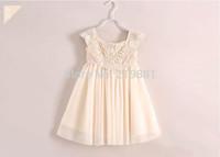Girls summer lace gauze tutu dress , children clothing , little girls dresses , 6pcs/lot   CFZ09