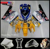* 1990 1001 1002 1003 1004 1005 1006 1007 1008 NC29 Fairing white  Body Kit For HONDA Ninja 1990-1998 NC29 ABS Plastic Bodywork