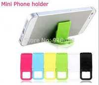 10 pcs Colorful mini Universal mobile phone stand holder Mini Desk Station Plastic For iphone samsung huawei xiaomi HTC Lenovo