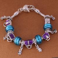 925 Sterling Silver Bracelet Snake Chain Screw European Silver Charms Beads  /ggiaoxpa gtuaplba PH004