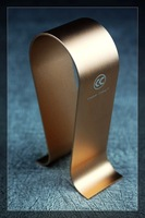Gold Color Copper Colour Headphone Stand  Aluminum Alloy Headphone Display Stand Holder Earphone Holder