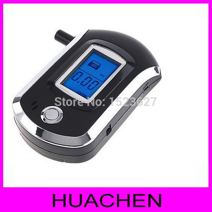 9126 Professional Mini Police Digital LCD Screen Breath Alcohol Tester Breathalyzer AT6000(China (Mainland))
