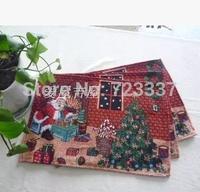 Free Shipping 4pcs Christmas series table Napkin 33*46cm napkin home Decoration supplies