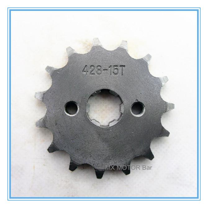 Звездочка для мотоциклов XF 428# 15 , 20,5 звездочка для редуктор z 15 в воронеже
