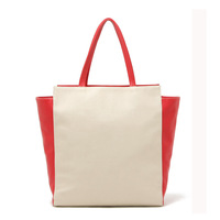 Free ship HOT Classic red and white with a simple atmospheric exposure handbag shoulder bag