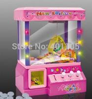 Novelty Mini Doll Grabber Machine Children Toys Mini Electric Grabber Machine Toys with Music Exploring Intelligence Toys