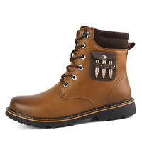 2015 new winter outdoor clothes really Pima Ding boots snow boots warm cold men factory outlets