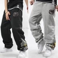 2014 Winter Eminem Hip Hop Rap Sports Pants  Baggy Jogger Sweatpants Brand Pants Street Dance Trousers Men Harem Pants FS3423