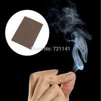 J34 Free Shipping 10Pcs/lot Close-Up Magic Gimmick Prop Fantasy Finger Tips Smoke Hell Smoke Trick