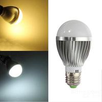 LED Bulb E27 5W  E27 450 LM Warm White White AC110-240V LED Globe Light Bulb High Power