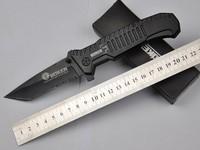 BOKER PLUS Ares 088 MARS Black Aluminium Handle 440 56HRC Blade Folding Knife hunting knife knives Christmas Gift TFF153