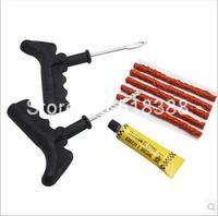 Hot Sales Motorcycle Auto Tubeless Tyre Puncture Plug Car Tire Repair Tool Kit Rubber Strips Rim Reparing Tools