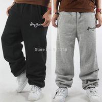 Eminem 2014 Winter Warm Men Famous Brand Sport Baggy Harem Pants Cotton Sweatpants Hiphop Slacks Outdoor Joggers Trousers FS3431