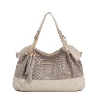 2014 Hot Sale Lady's Handbag Fashion Tassel And Chains Leather Women Handbag  Brand Fashion Shoulders Bag