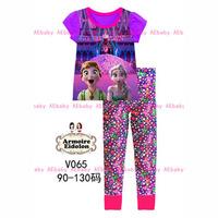 Dec-22 Boys Big Hero Clothing Set Kids Cartoon Clothes New 2014 Wholesale Children 8-12Y ShortSleeve Cotton Pajamas Sets V-048