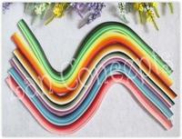 Free shipping W0.5cm x L54cm DIY Quilling Paper  - MIXED 36colors 1440pcs/lot LA0124
