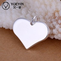 Free Shipping Hot Sale Hot Sale New Free Shipping Women's P143 Hot sale nickel lead free silver plated pendant for party