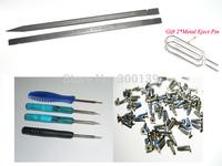 Mini Magnetic Pentalobe Screwdriver Screw driver +Plastic Spudger tool +100pcs Original Star Bottom Screw for iPhone 4/4s, Cheap