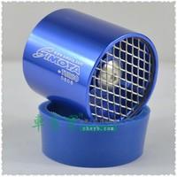 simota taiwan 55MM single side turbocharger/blue super turbocharger/ air intake turbocharger